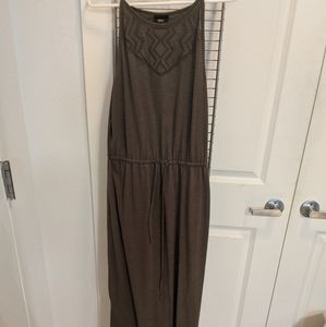 Mossimo olive green maxi dress